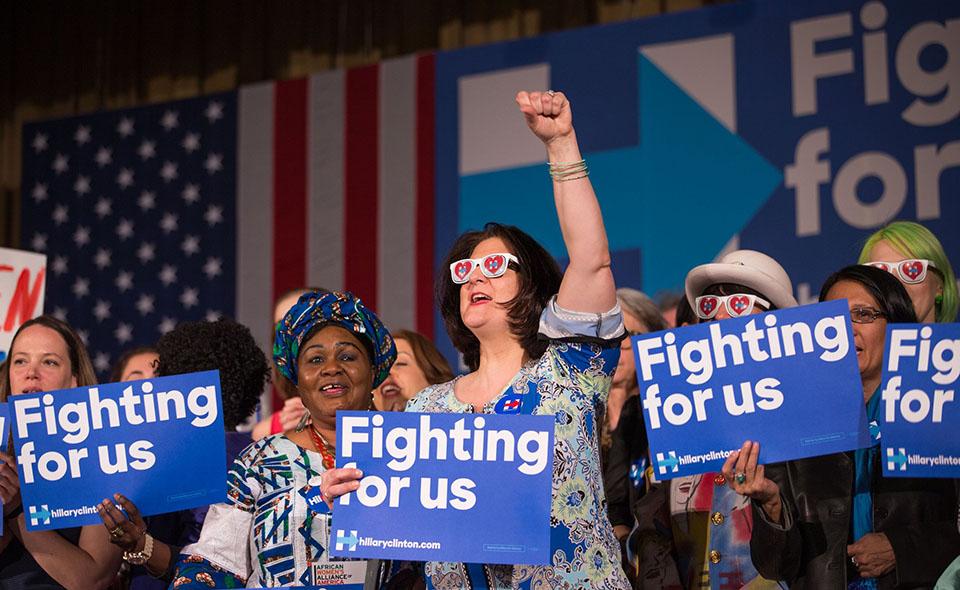 sostentitrici Clinton