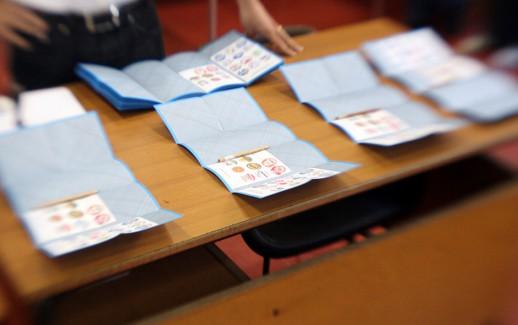LaPresse 29-05-2011 Milano, Italia Elezioni Comunali Milano 2011  Nella foto: un momento delle votazioni