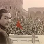 Berlinguer comizio in Piazza Signoria