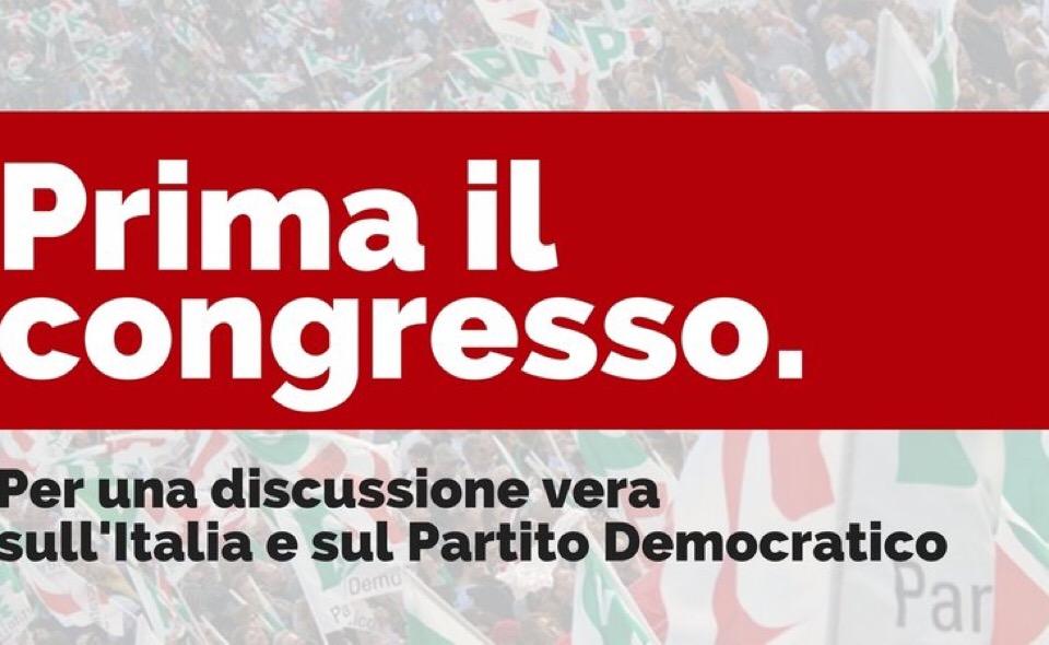 Delrio: il candidato premier è Renzi Scissioni? Così non si ricostruisce Pd