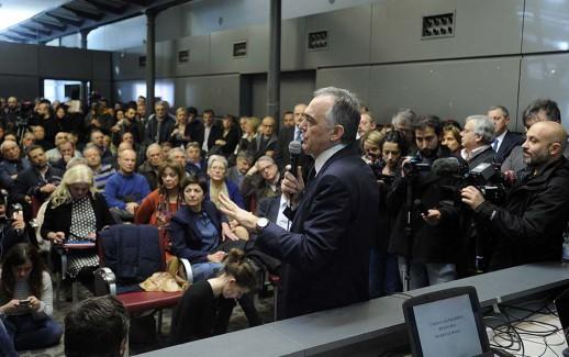 Enrico Rossi Città dell'Altra Economia. Presentazione di un nuovo soggetto di centrosinistra