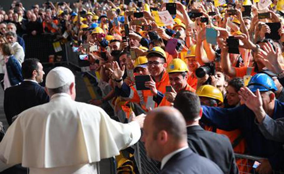 Papa Francesco Il Discorso Sul Lavoro L Argine