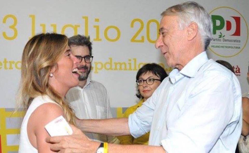 Maria Elena Boschi _ Giuliano Pisapia