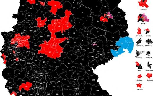 Germania, collegi elettorali