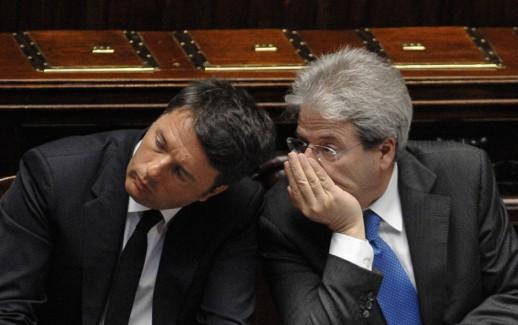 Matteo Renzi_Paolo Gentiloni