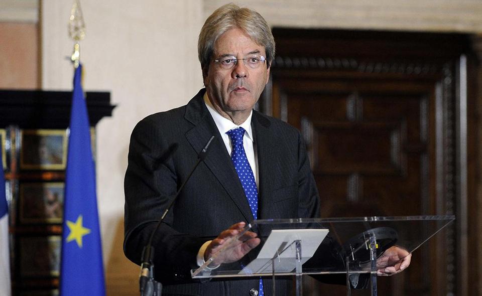 Gentiloni sull'economia italiana: