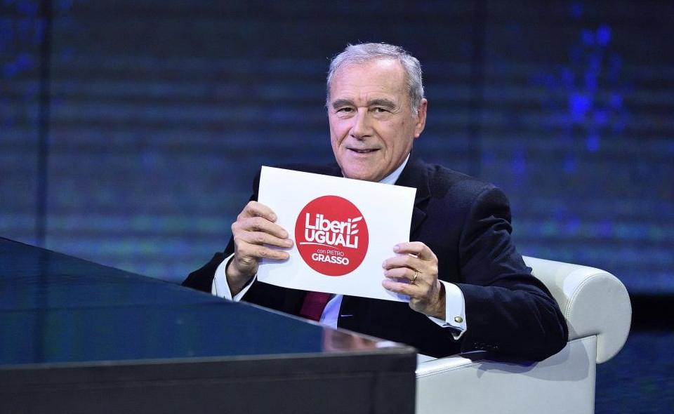 Grasso presenta il simbolo: