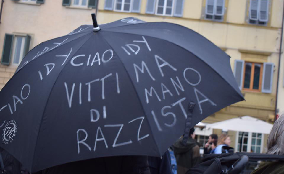 Firenze, l'omicidio sul ponte Mercoledì lutto cittadino per Idy