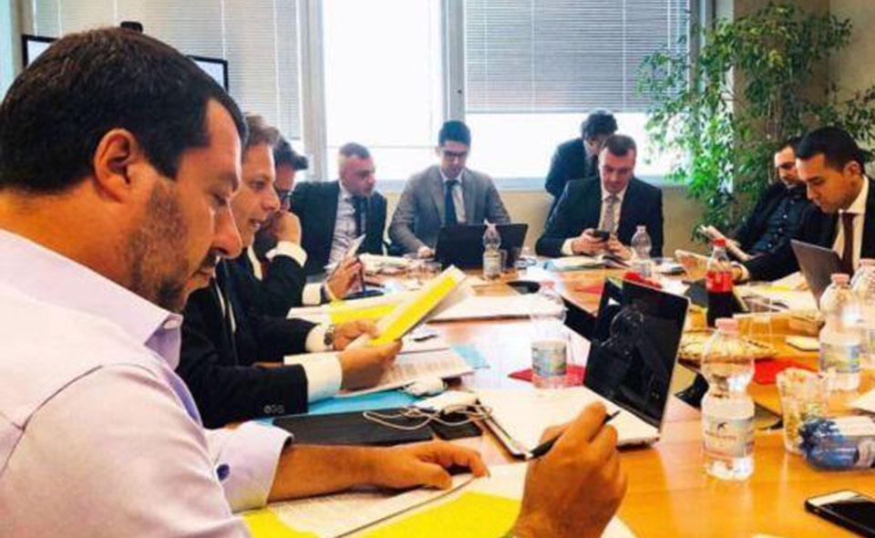 Salvini_DiMaio_Tavolo_Trattative1