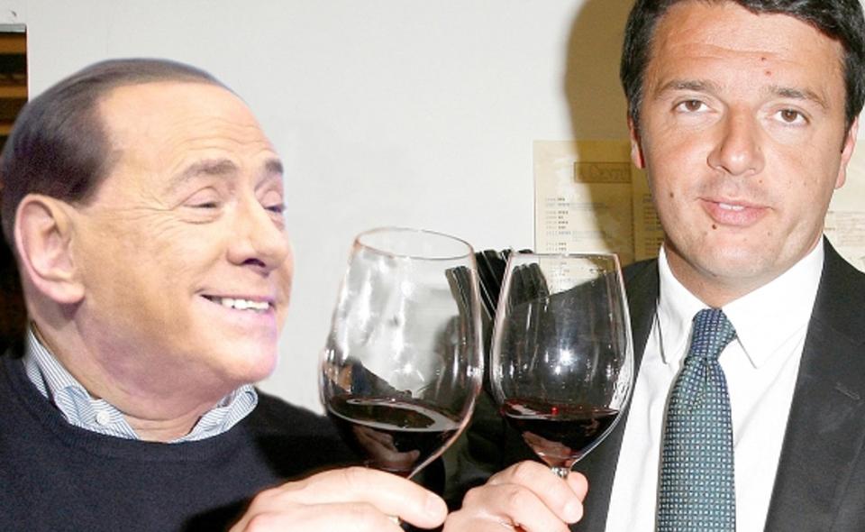 Berlusconi_Renzi1