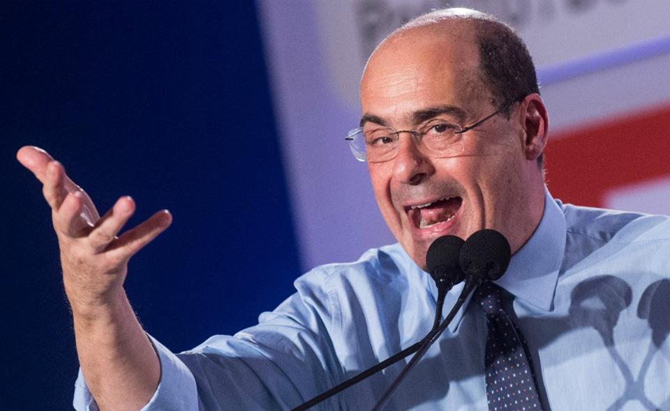 Nella foto: Nicola Zingaretti, segretario del Pd
