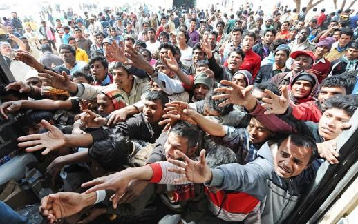 Sbarco di immigrati
