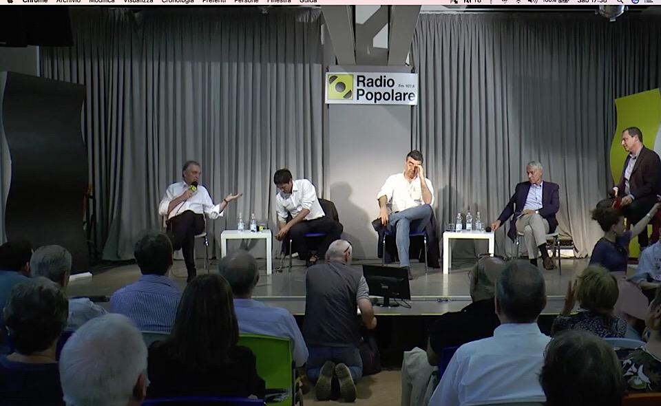 Enrico Rossi a Radio Popolare