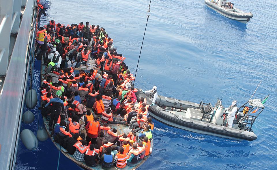 Barche migranti