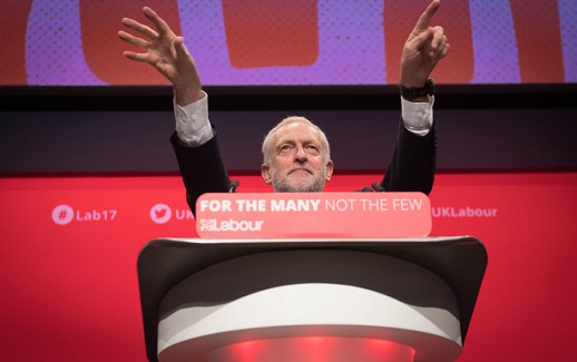 Labour leader Jeremy Corbyn making his keynote address to the Labour Party annual conference, at the Brighton Centre, Brighton. PRESS ASSOCIATION Photo. Picture date: Wednesday September 27, 2017. Photo credit should read: Stefan Rousseau/PA Wire