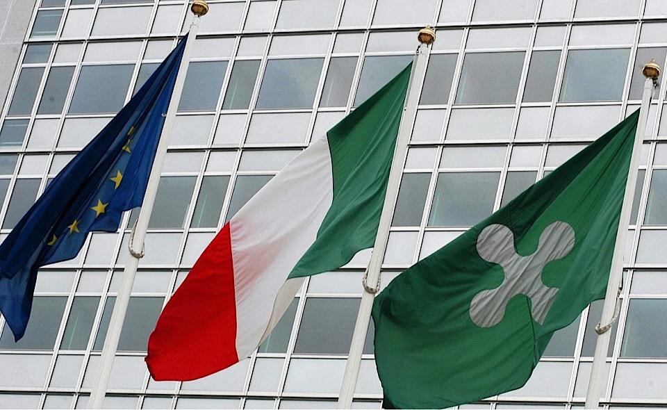 Il palazzo della Regione Lombardia