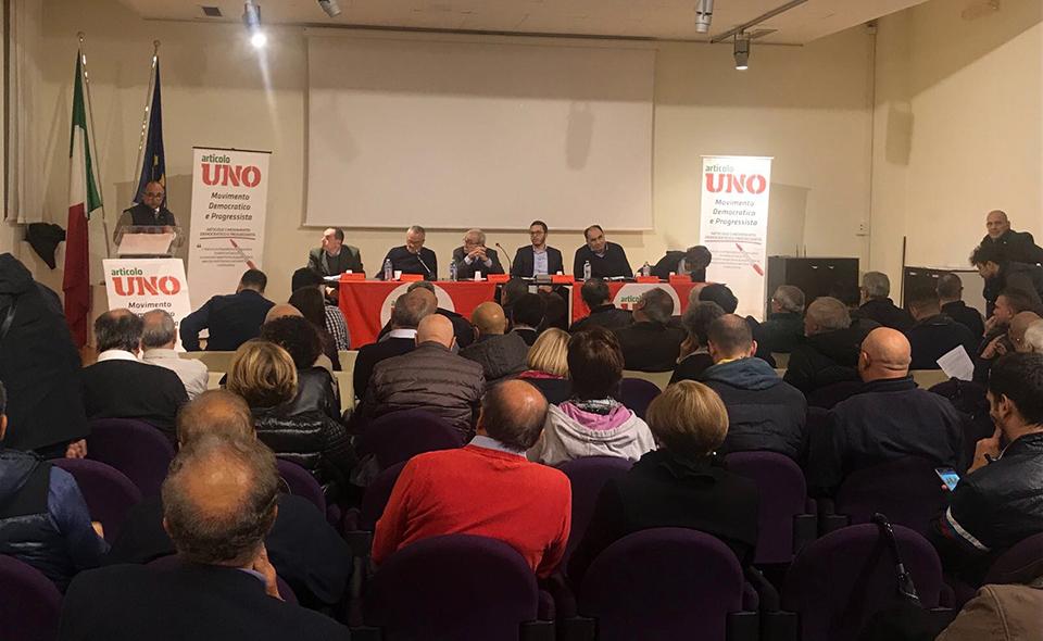 Brindisi, iniziativa Articolo Uno