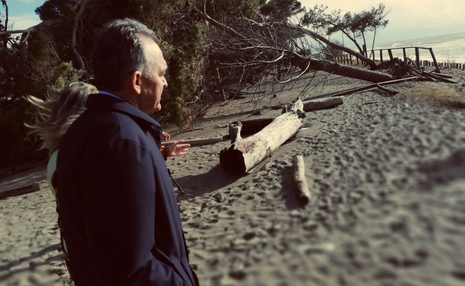 Enrico Rossi-alluvione costa maremmana