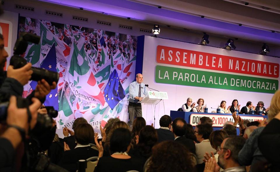 Zingaretti_Pd_Assemblea_Nazionale