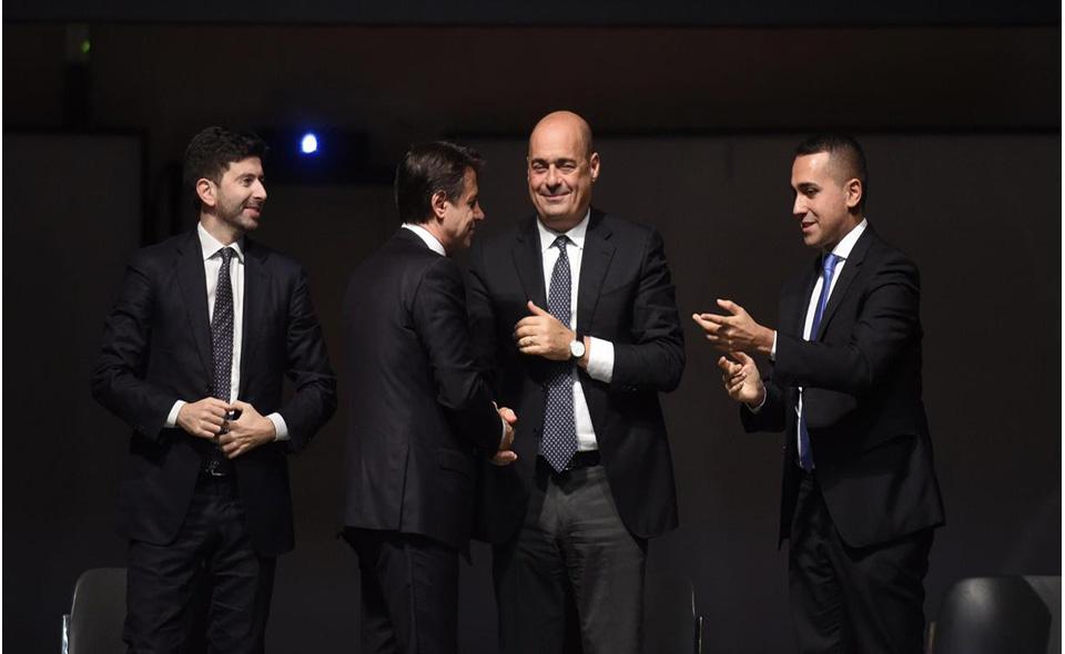 Speranza_Zingaretti_Conte_DiMaio
